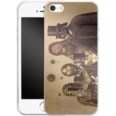 Apple iPhone 5s Silikon Handyhuelle - Victorian Wars von Terry Fan