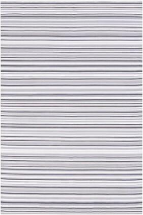 MTM1001-810 8' x 10' Rug  in Taupe and Medium Gray and Light Gray and Charcoal and