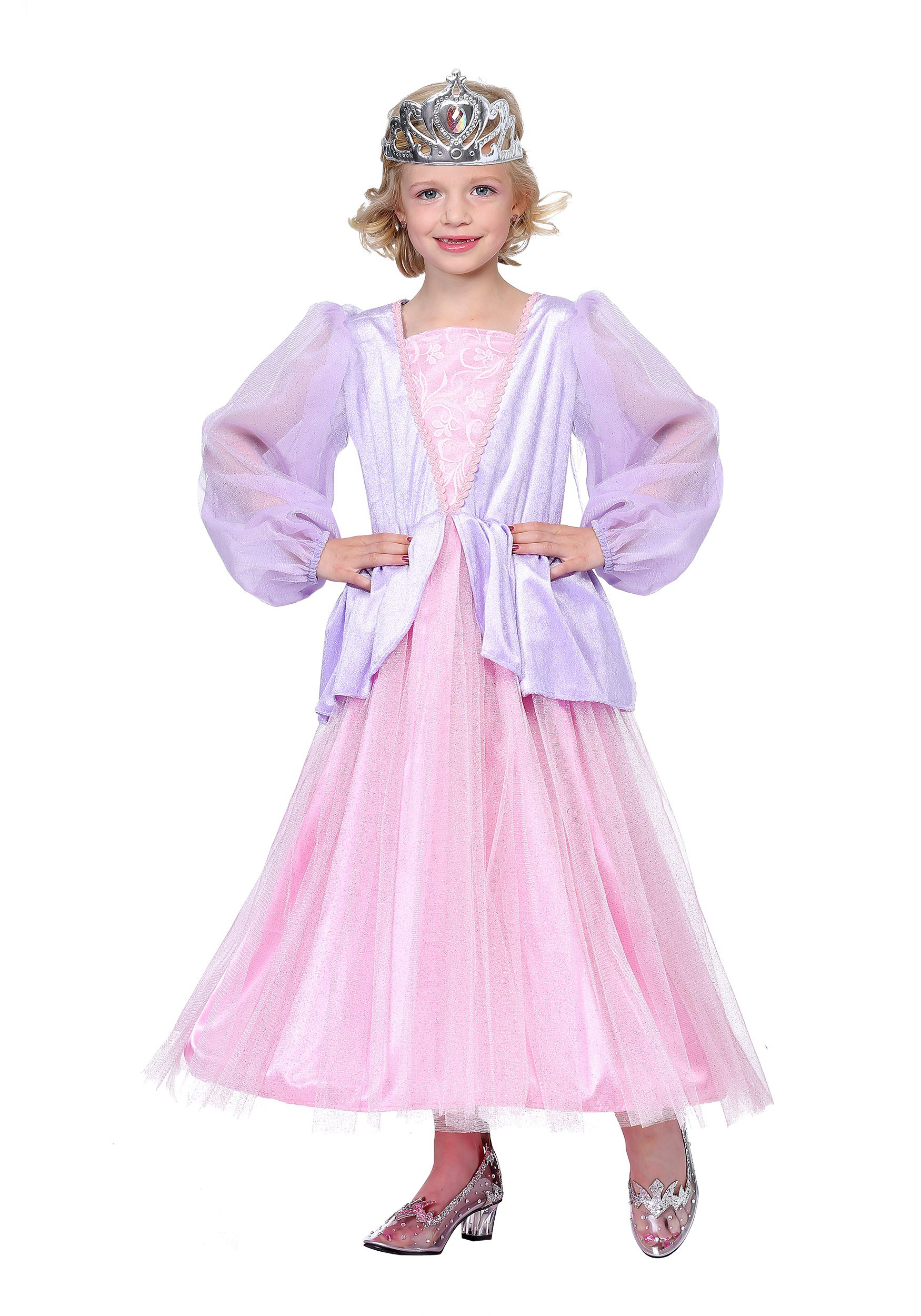 Pink and Lavender Princess Costume for Girls