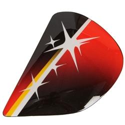 Arai Corsair-V Aoyama 09 Shield Side Pods