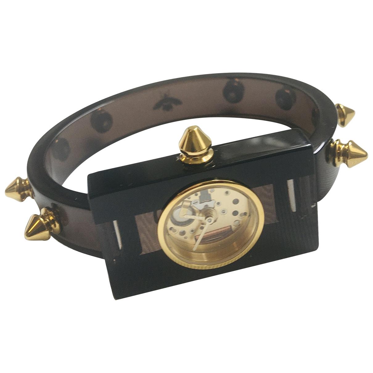Gucci \N Black watch for Women \N