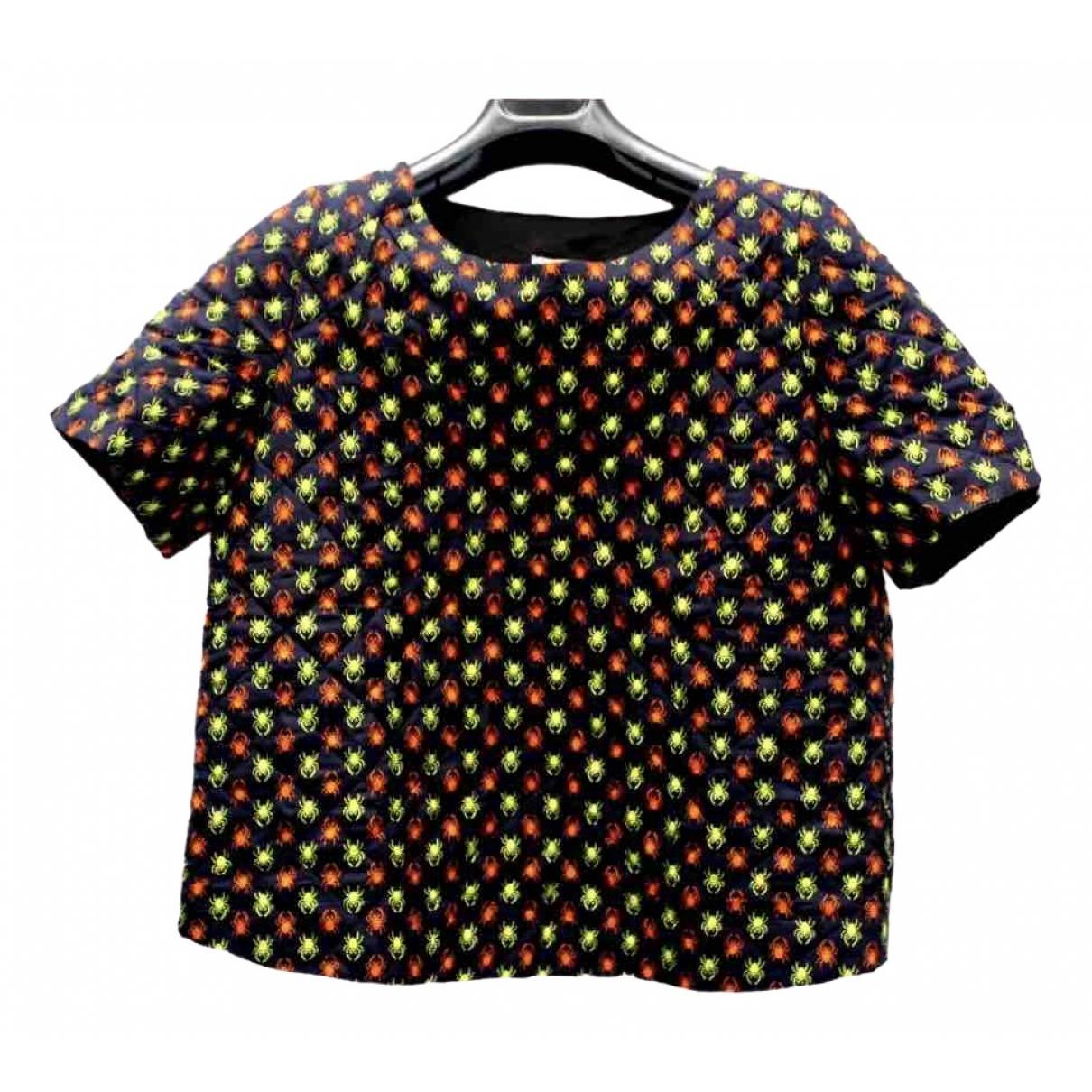 Topshop X J.w. Anderson - Top   pour femme en soie - multicolore
