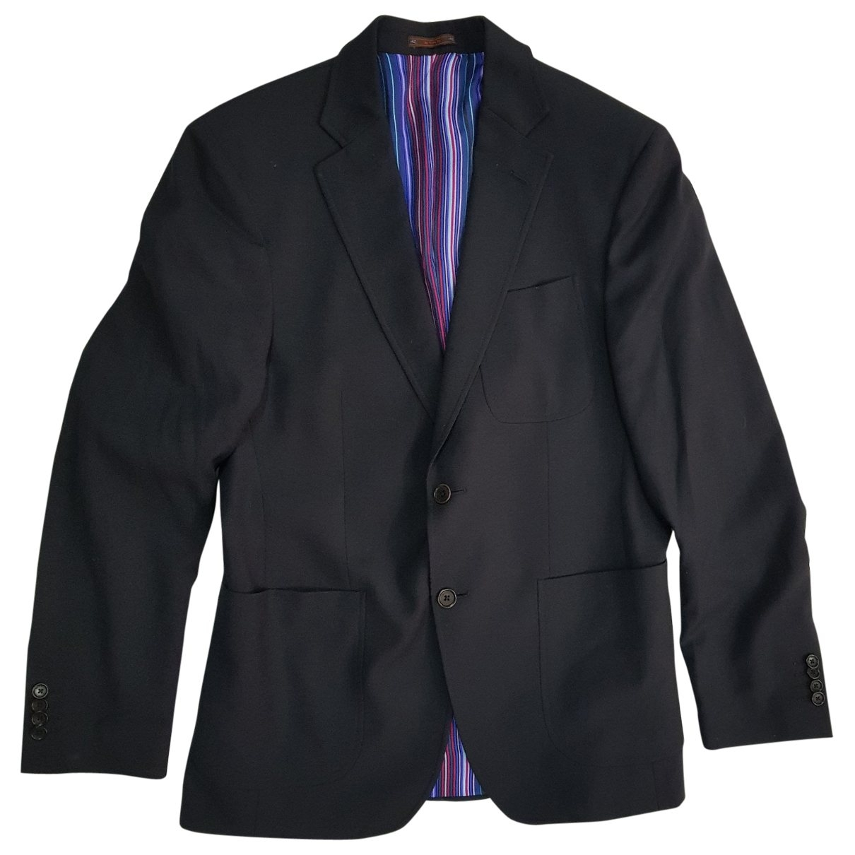 Etro \N Jacke in  Schwarz Wolle