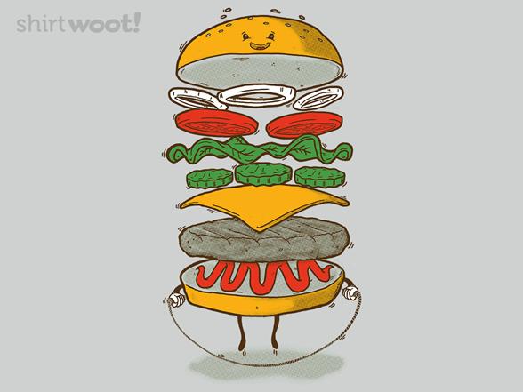 Sporty Fast Food T Shirt