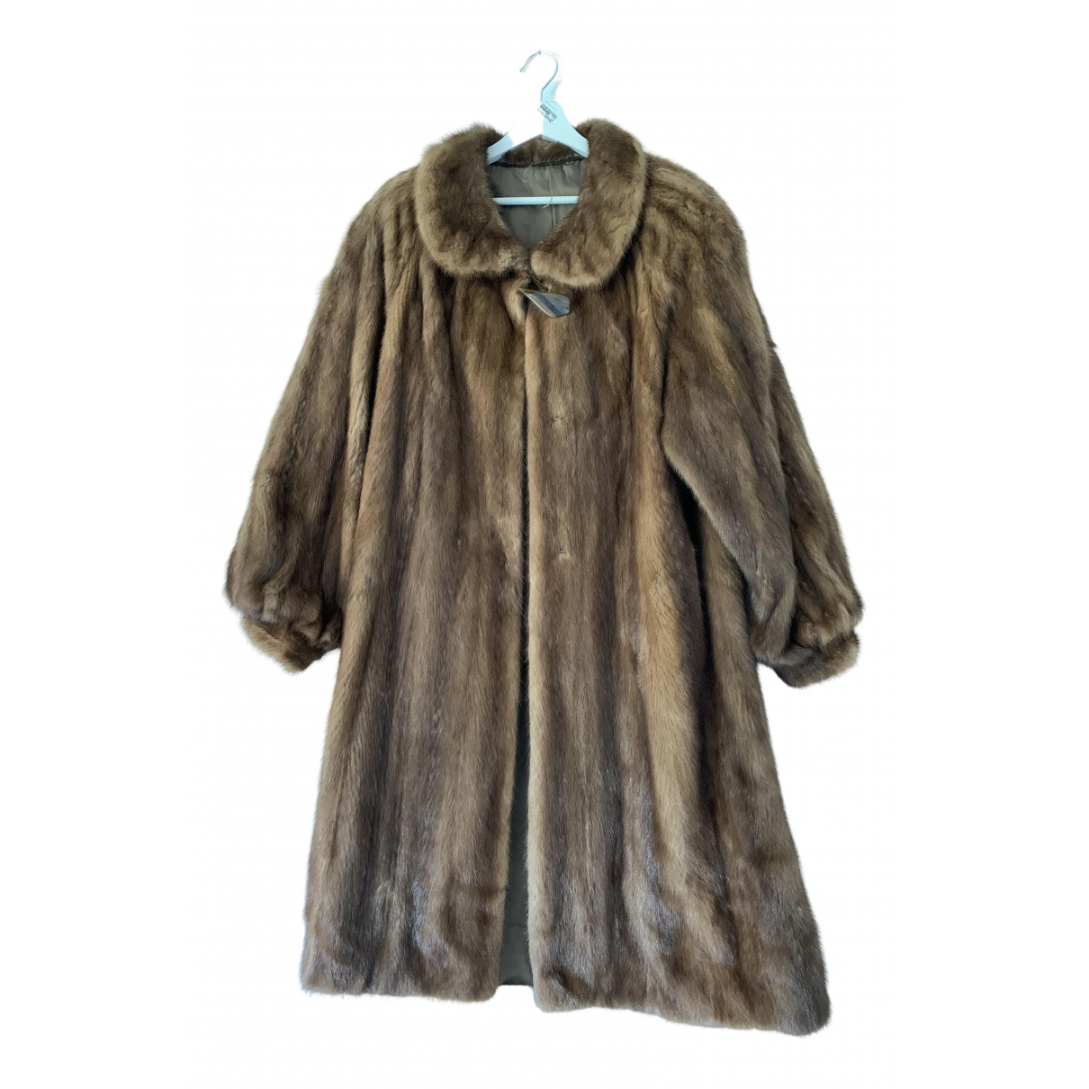 Non Signé / Unsigned \N Mink coat for Women 44 IT