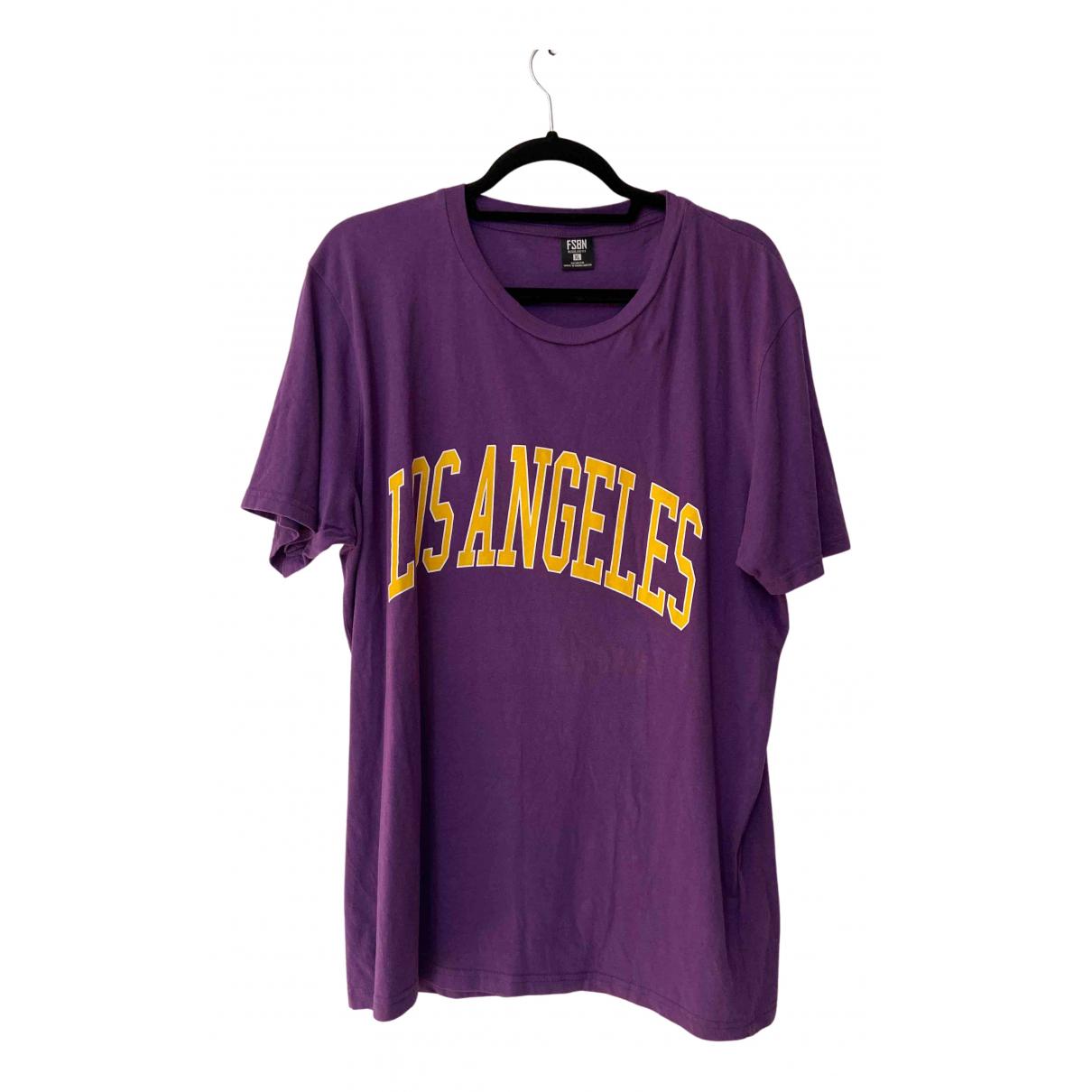 - Tee shirts   pour homme en coton - violet
