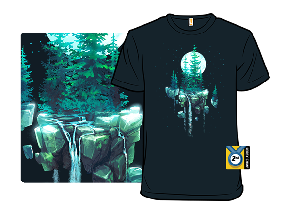 Forest Moon T Shirt