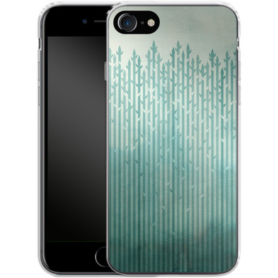 Apple iPhone 7 Silikon Handyhuelle - Misty Morning von Little Clyde