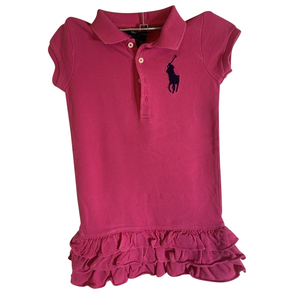 Ralph Lauren \N Pink Cotton dress for Kids 4 years - up to 102cm FR
