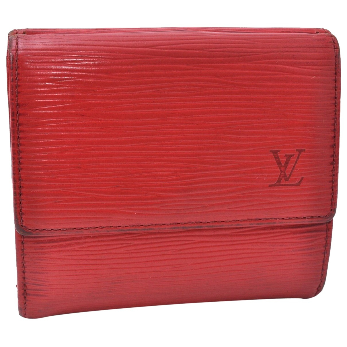 Louis Vuitton N Red Leather wallet for Women N