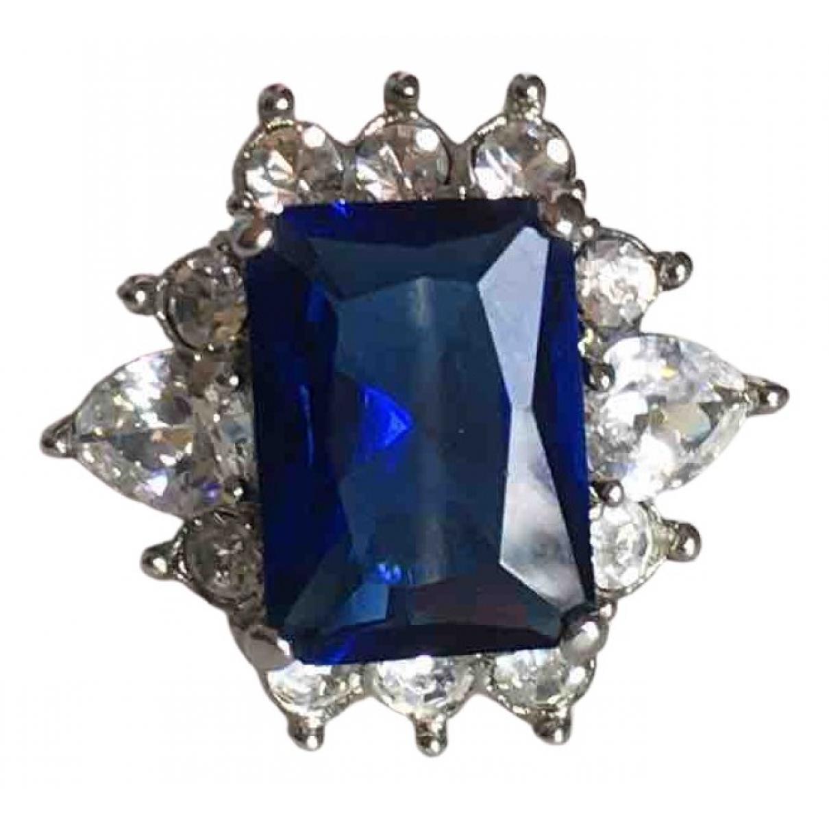- Bague   pour femme en metal - bleu