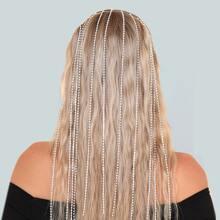Rhinestone Tassel Hair Hoop