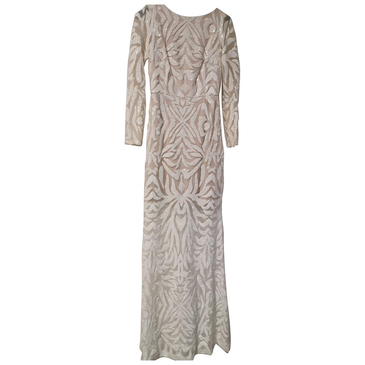 - Robe   pour femme en dentelle - blanc