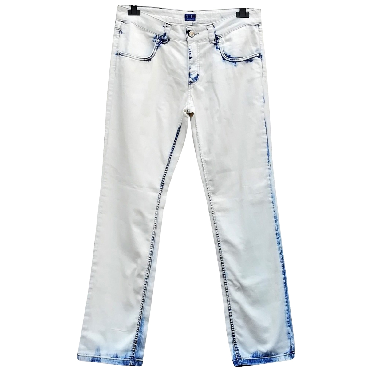Trussardi Jeans \N White Cotton Jeans for Women 30 US