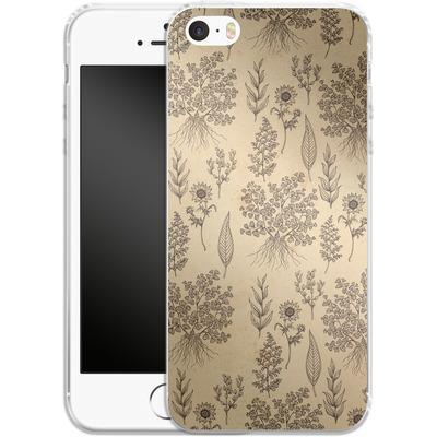 Apple iPhone 5 Silikon Handyhuelle - Natura von Daniel Martin Diaz