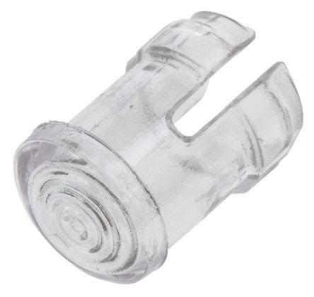 Visual SMB 200 CTP SMB 200 Series LED Holder for 3mm (T-1) Through-Hole LEDs, Transparent (5)