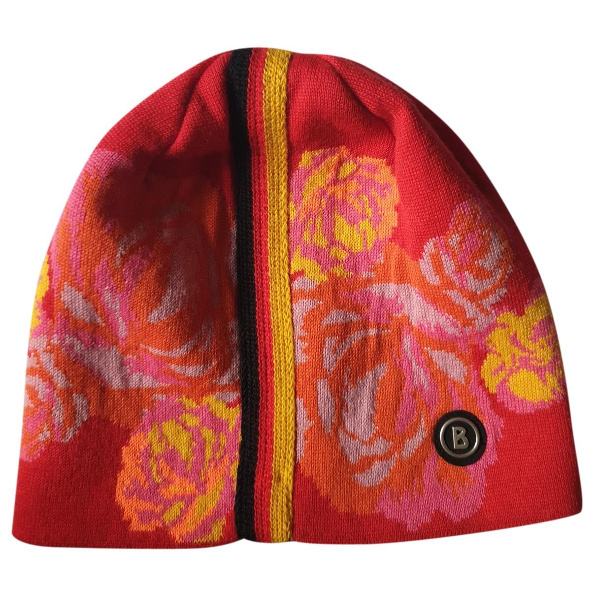 Bogner - Chapeau   pour femme en laine - multicolore