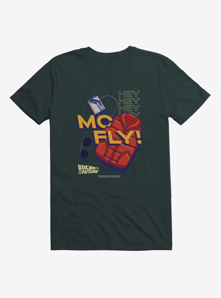 Back To The Future Hey McFly T-Shirt