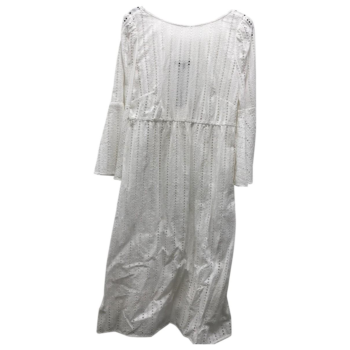 Tara Jarmon \N Kleid in  Weiss Baumwolle