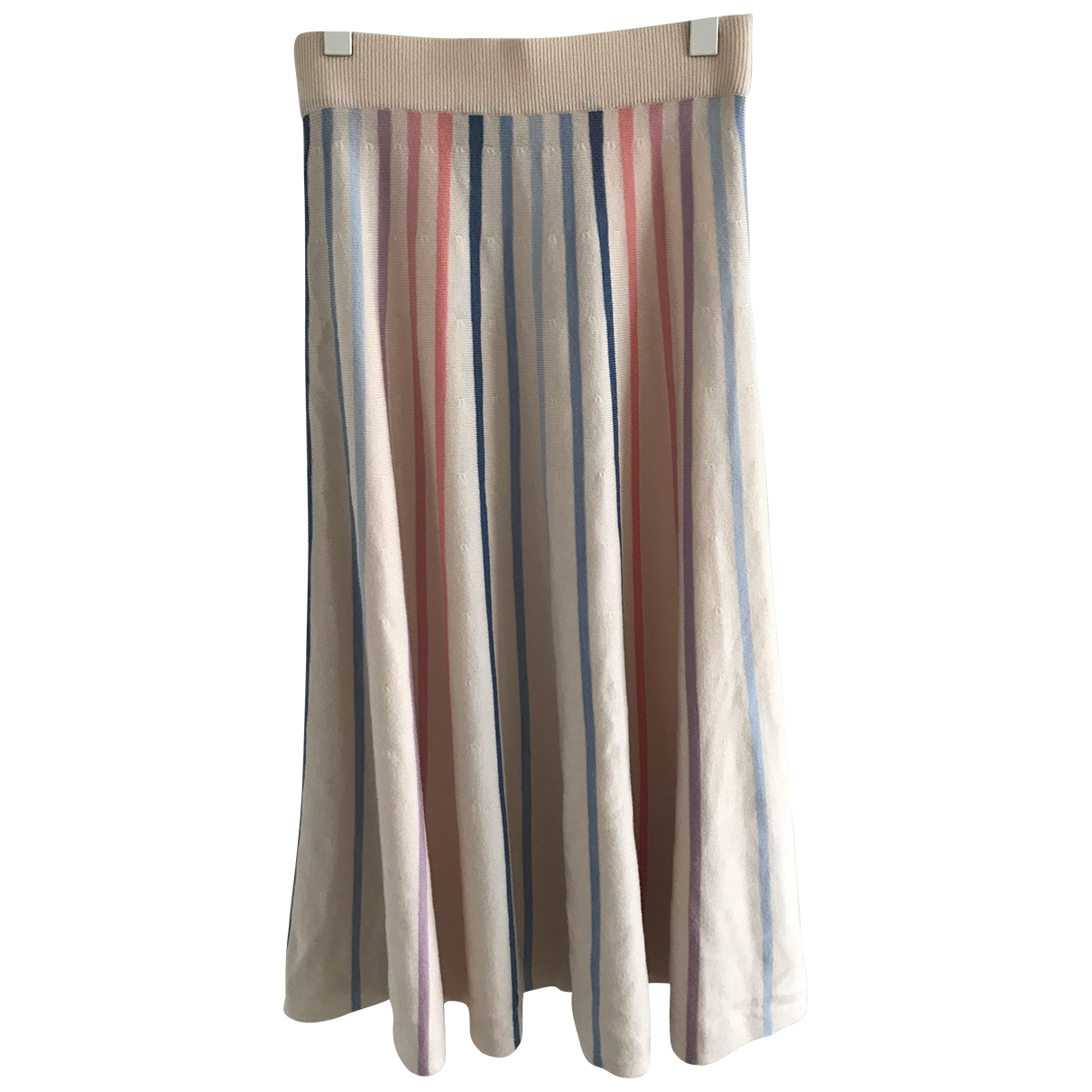 Temperley London \N Multicolour Wool skirt for Women M International
