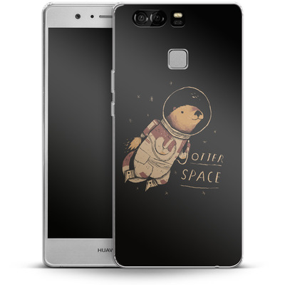 Huawei P9 Silikon Handyhuelle - Otter Space von Louis Ros