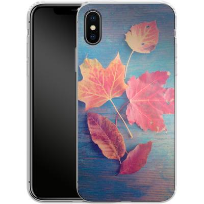 Apple iPhone X Silikon Handyhuelle - The Colors Of Autumn von Joy StClaire
