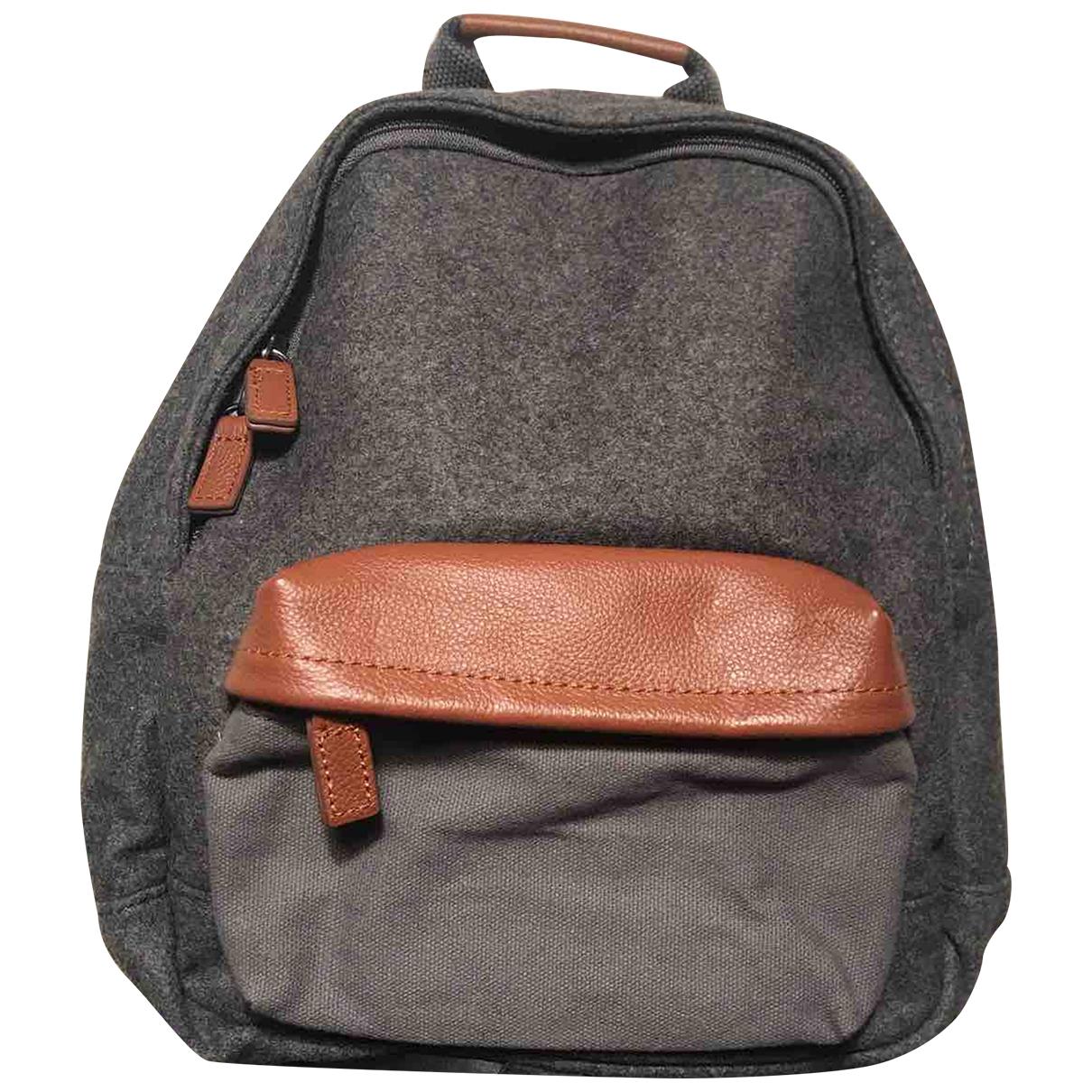 Jacadi \N Grey Cotton bag & Pencil cases for Kids \N