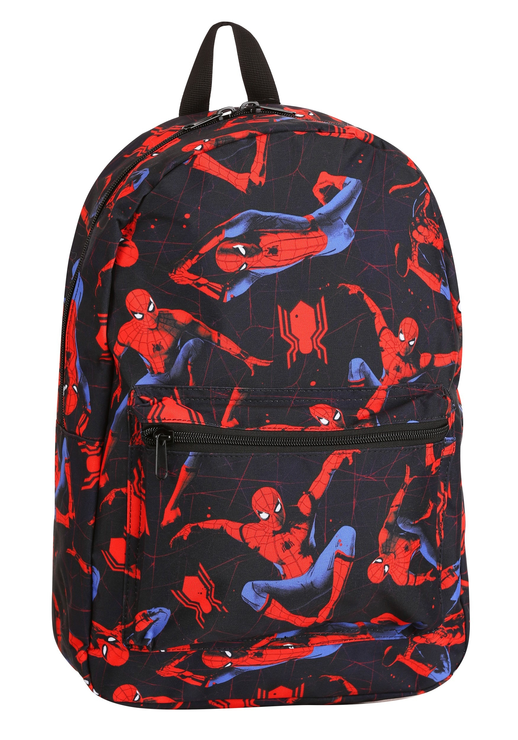 Classic Spider Man Print Backpack