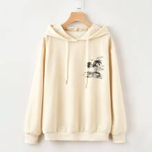 Tropical Graphic Hoodie