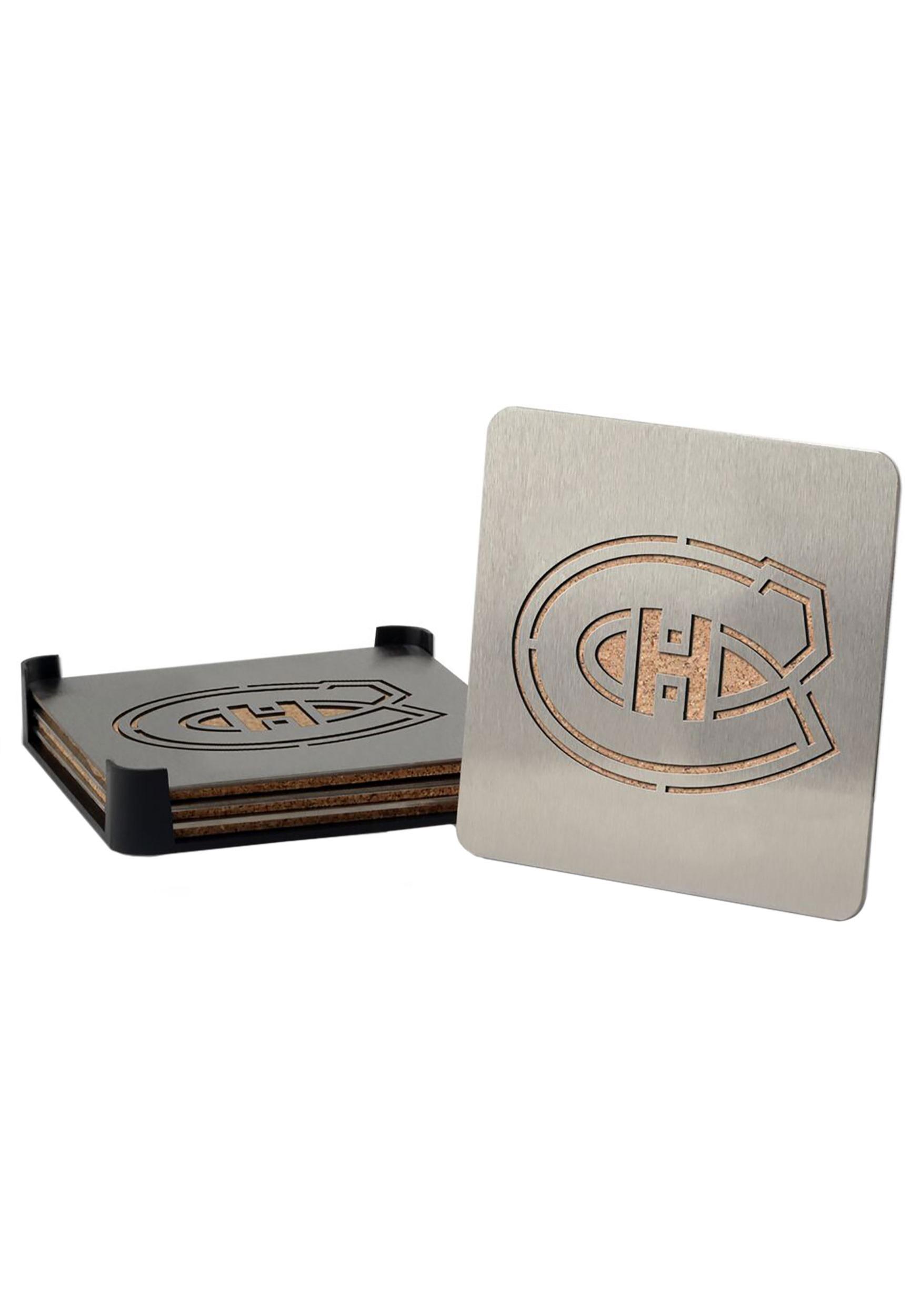 Boaster Coaster Montreal Canadiens Set