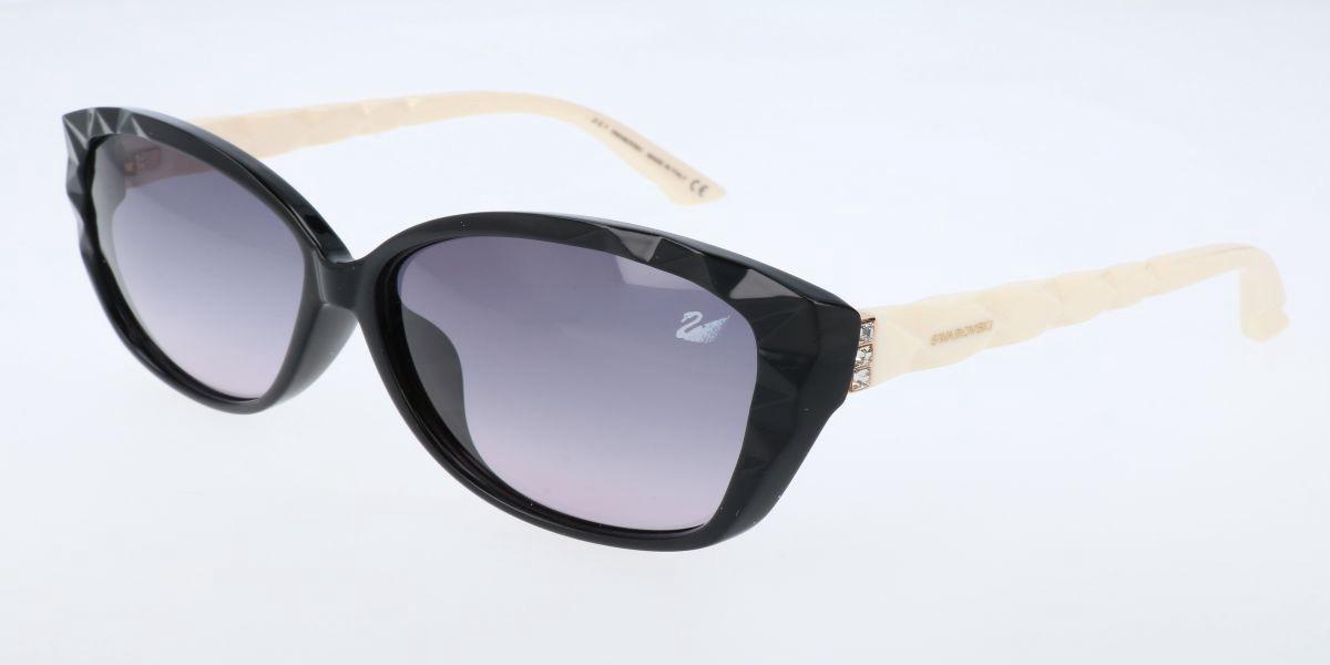Swarovski SK9058 04B Men's Sunglasses Black Size 60