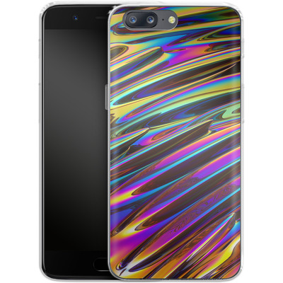 OnePlus 5 Silikon Handyhuelle - Twist von Danny Ivan