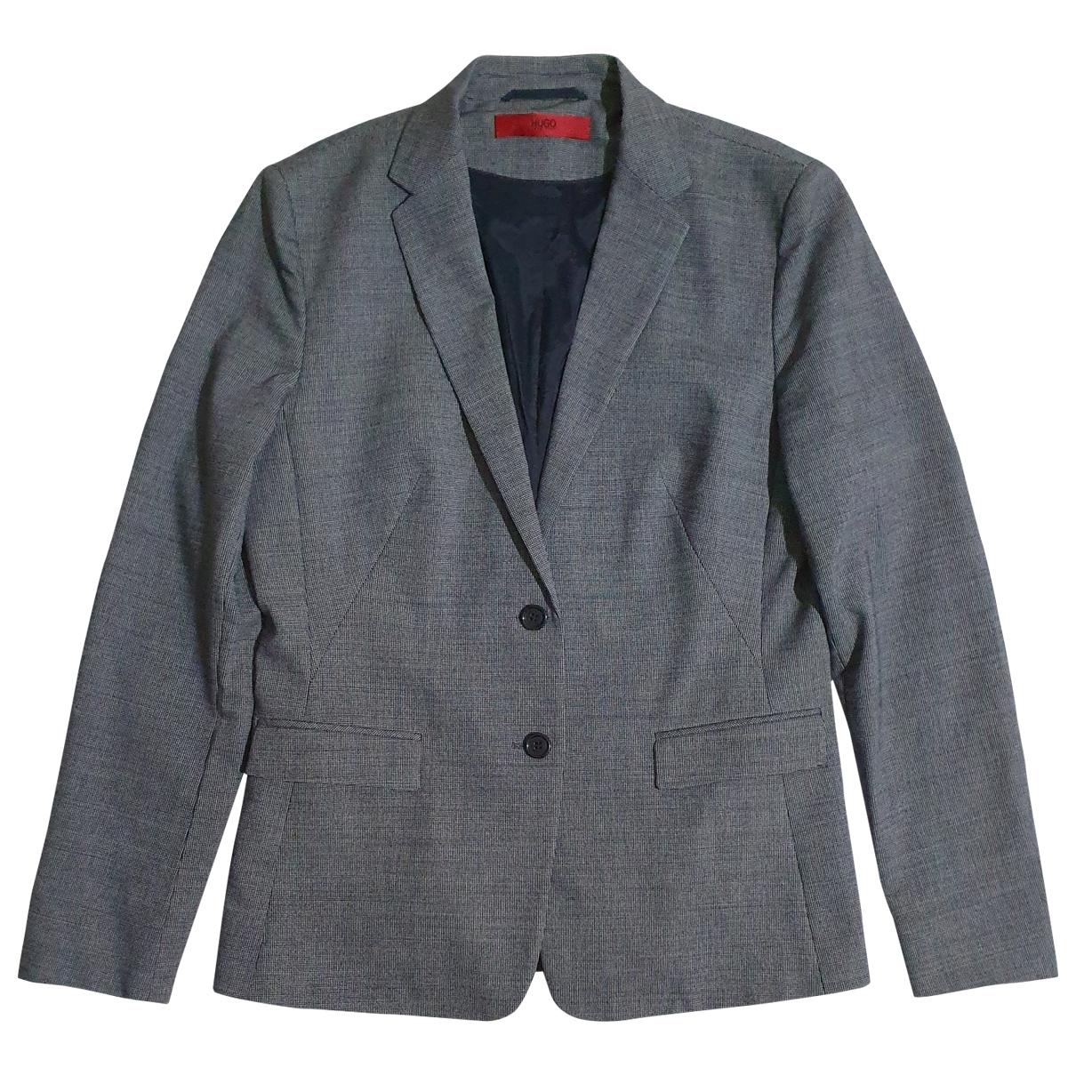 Hugo Boss - Veste   pour femme en laine - multicolore