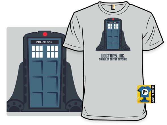 Who's Door T Shirt