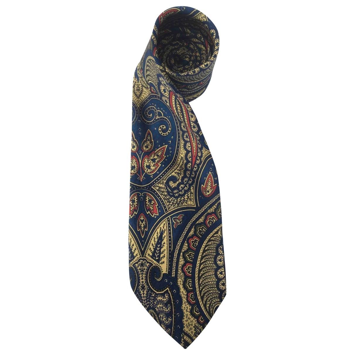 Boss \N Krawatten in  Gold Seide