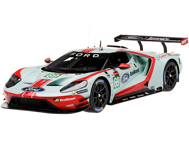 Ford GT LMGTE Pro 69 R. Briscoe - S. Dixon - R. Westbrook Ford Chip Ganassi Team USA 24 Hours of Le Mans (2019) 1/18 Model Car by Top Speed
