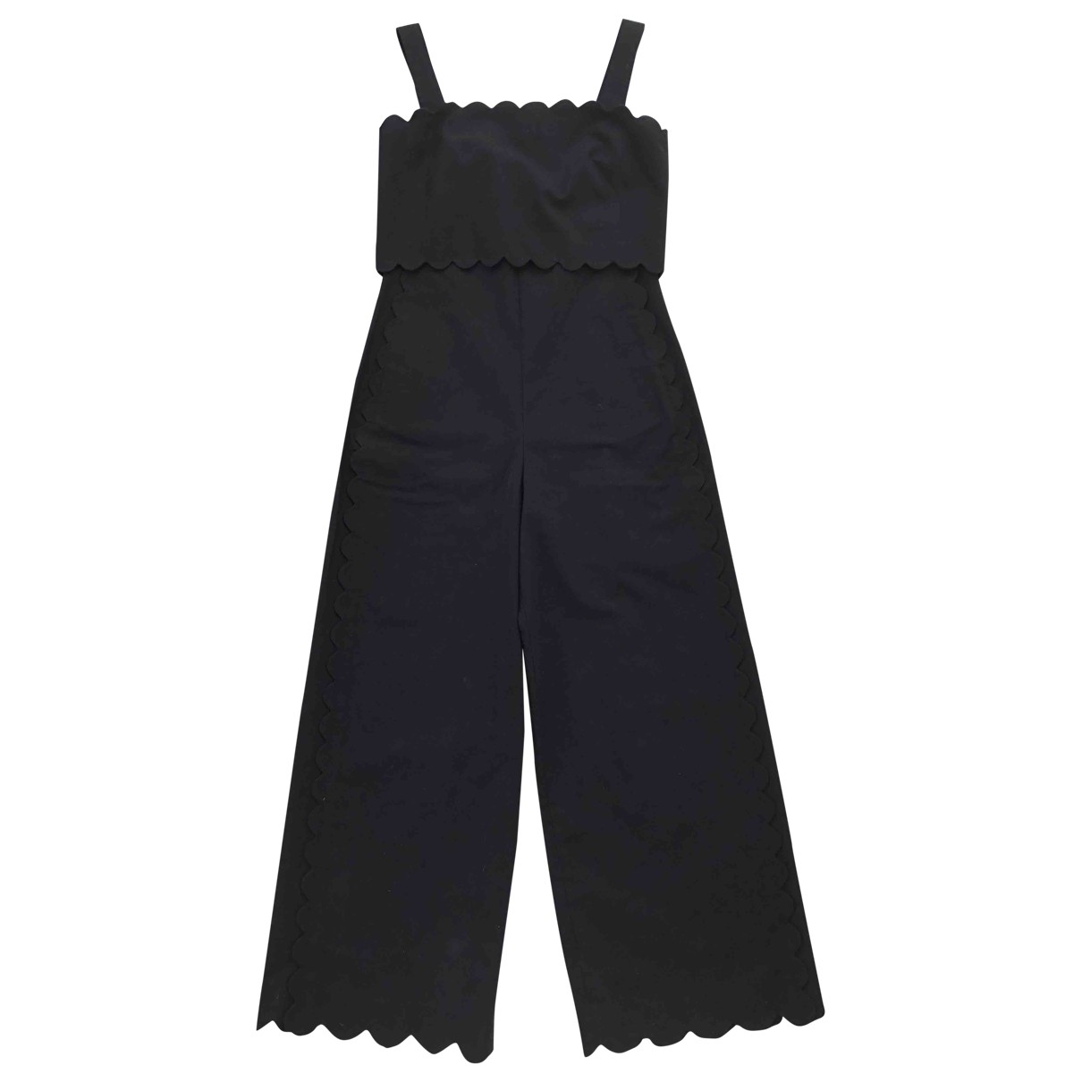 Rebecca Taylor \N Black Cotton jumpsuit for Women 2 US