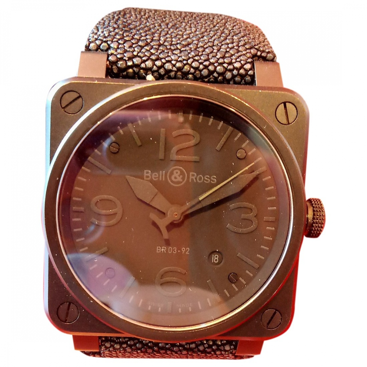 Relojes BR03-92 Phantom de Ceramica Bell & Ross