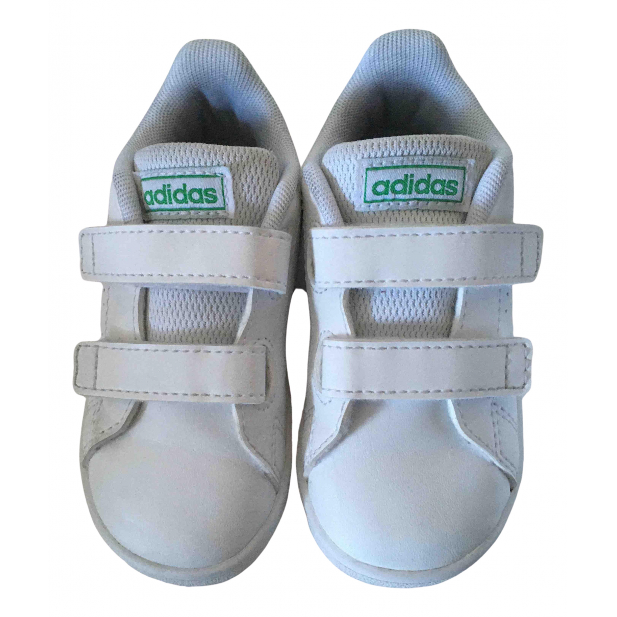 Adidas N White Leather Trainers for Kids 23 FR