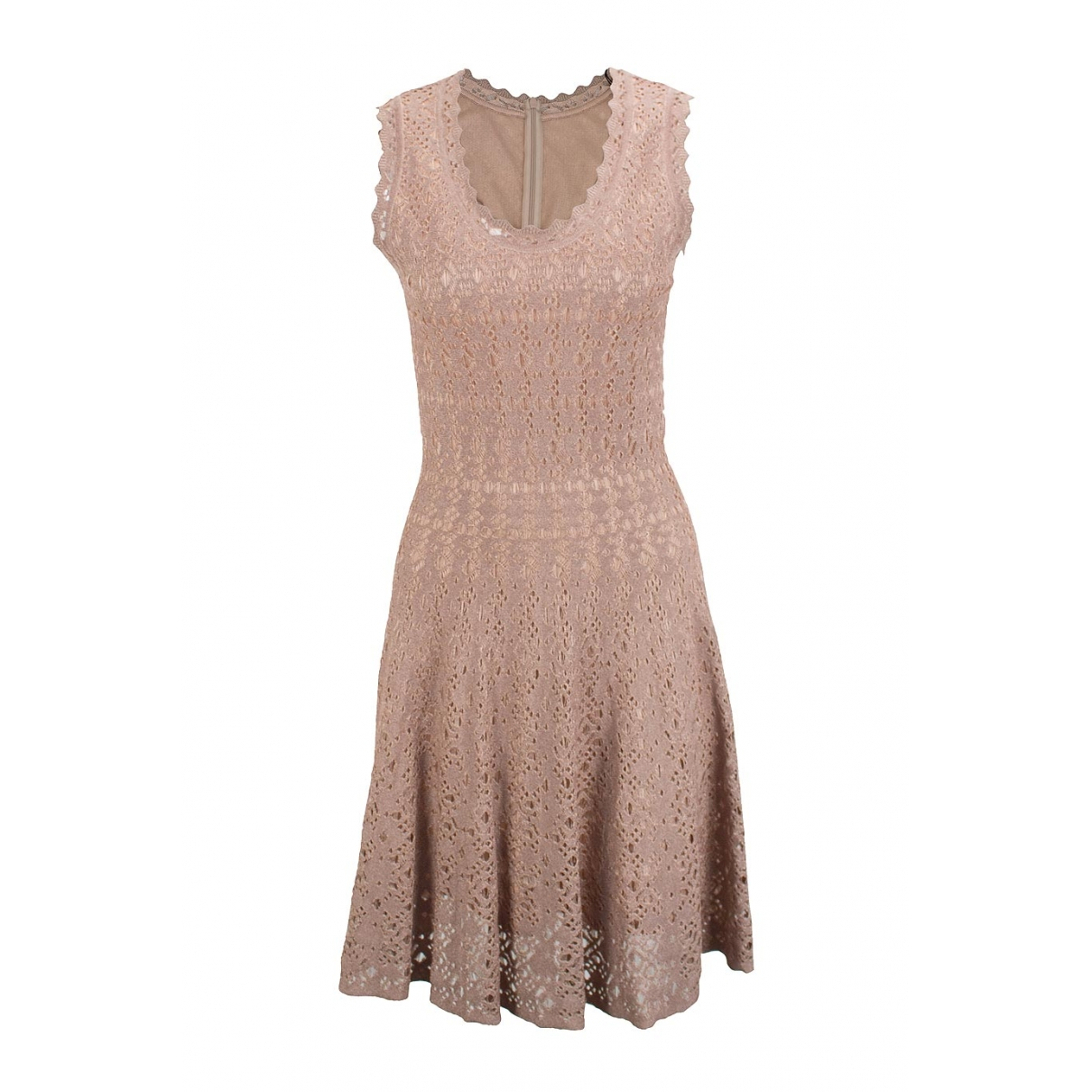 Alaïa \N Pink dress for Women 42 IT