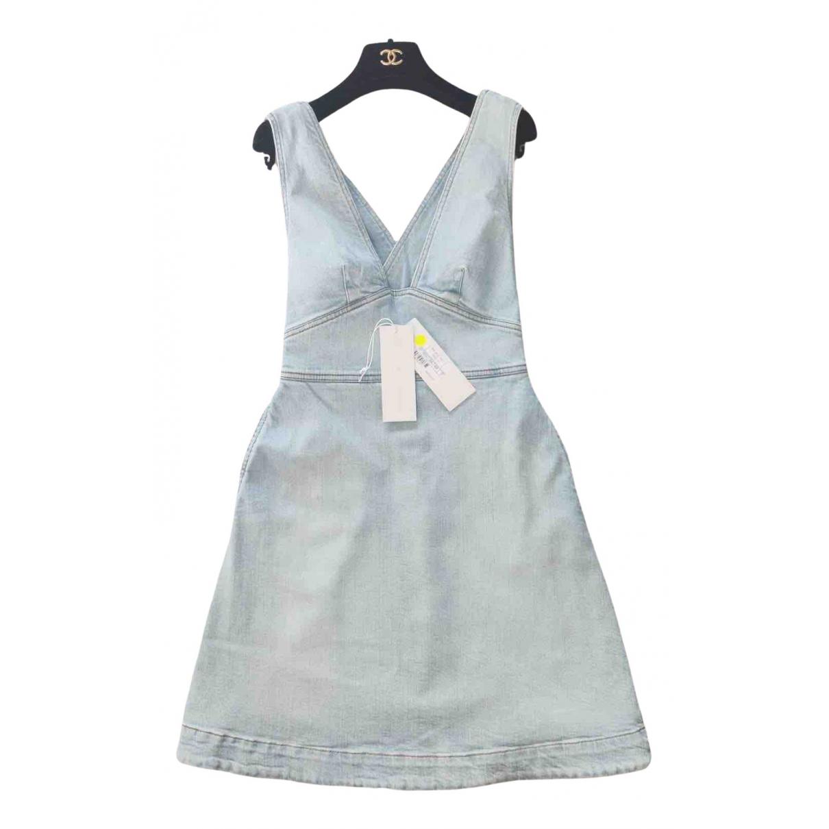 Stella Mccartney - Robe   pour femme en denim - bleu