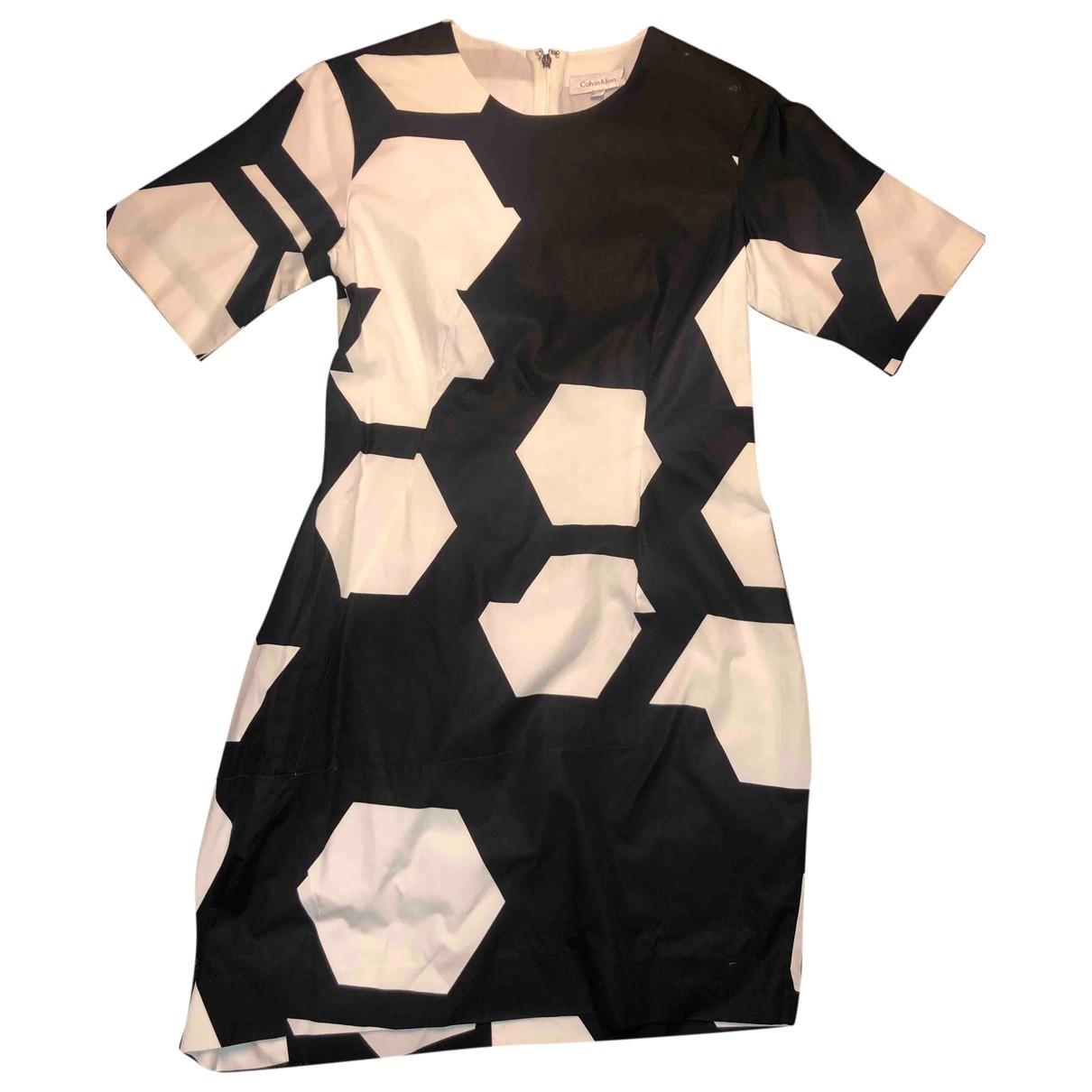 Calvin Klein \N Black Cotton dress for Women 36 FR