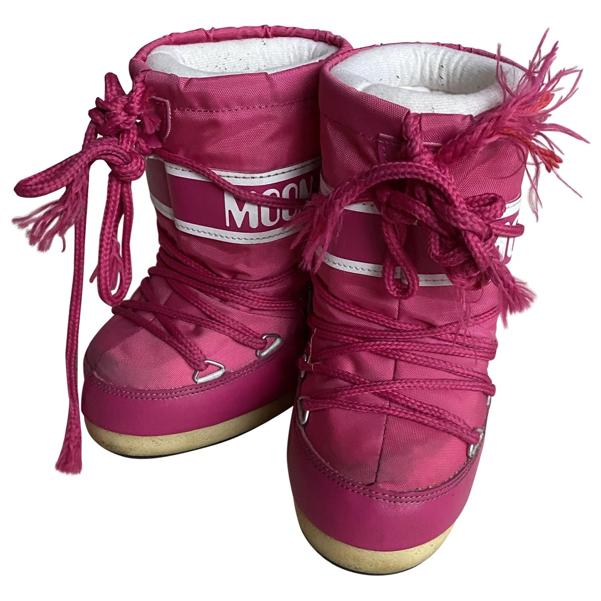 Moon Boot \N Pink Boots for Kids 23 EU
