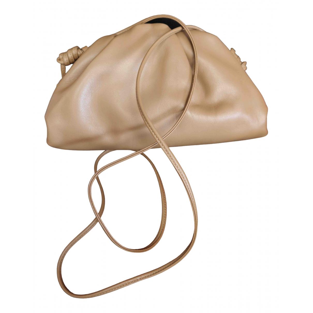 Bottega Veneta Pouch Beige Leather handbag for Women N