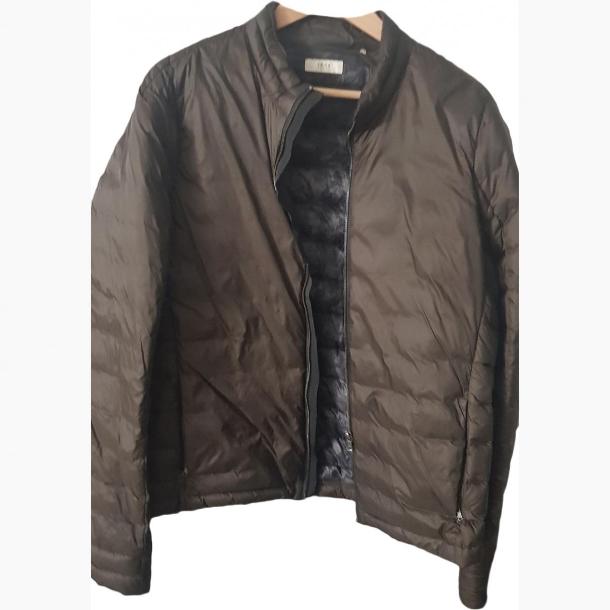 Ikks \N Khaki coat  for Men L International