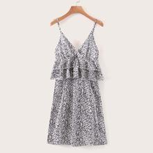 Cami Kleid mit Raffungsaum