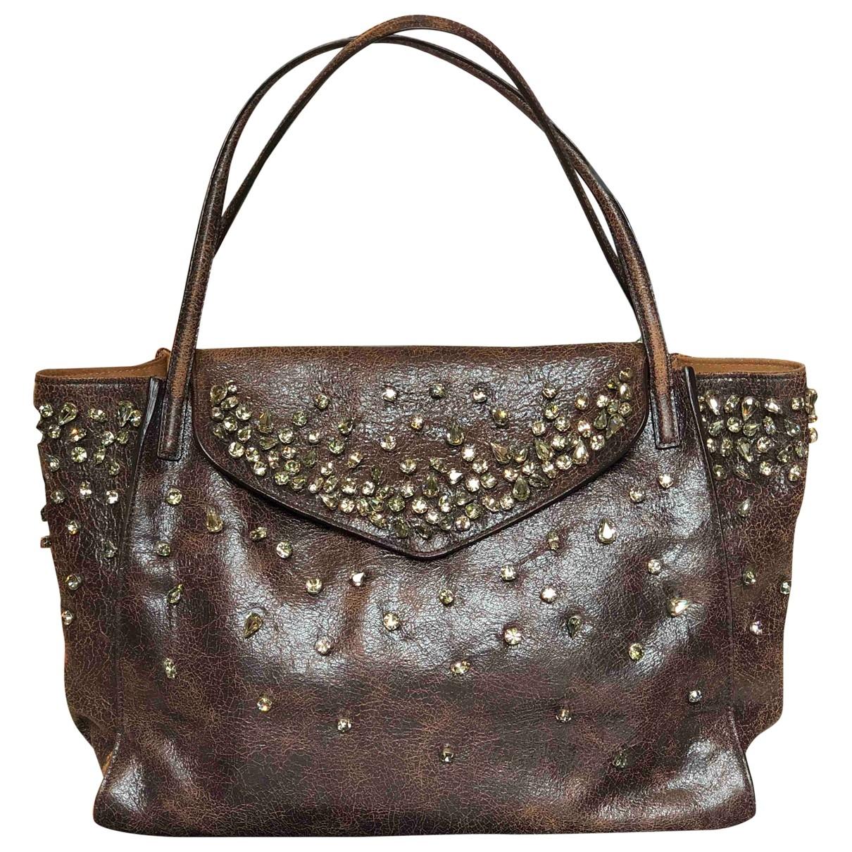 Ermanno Scervino \N Leather handbag for Women \N