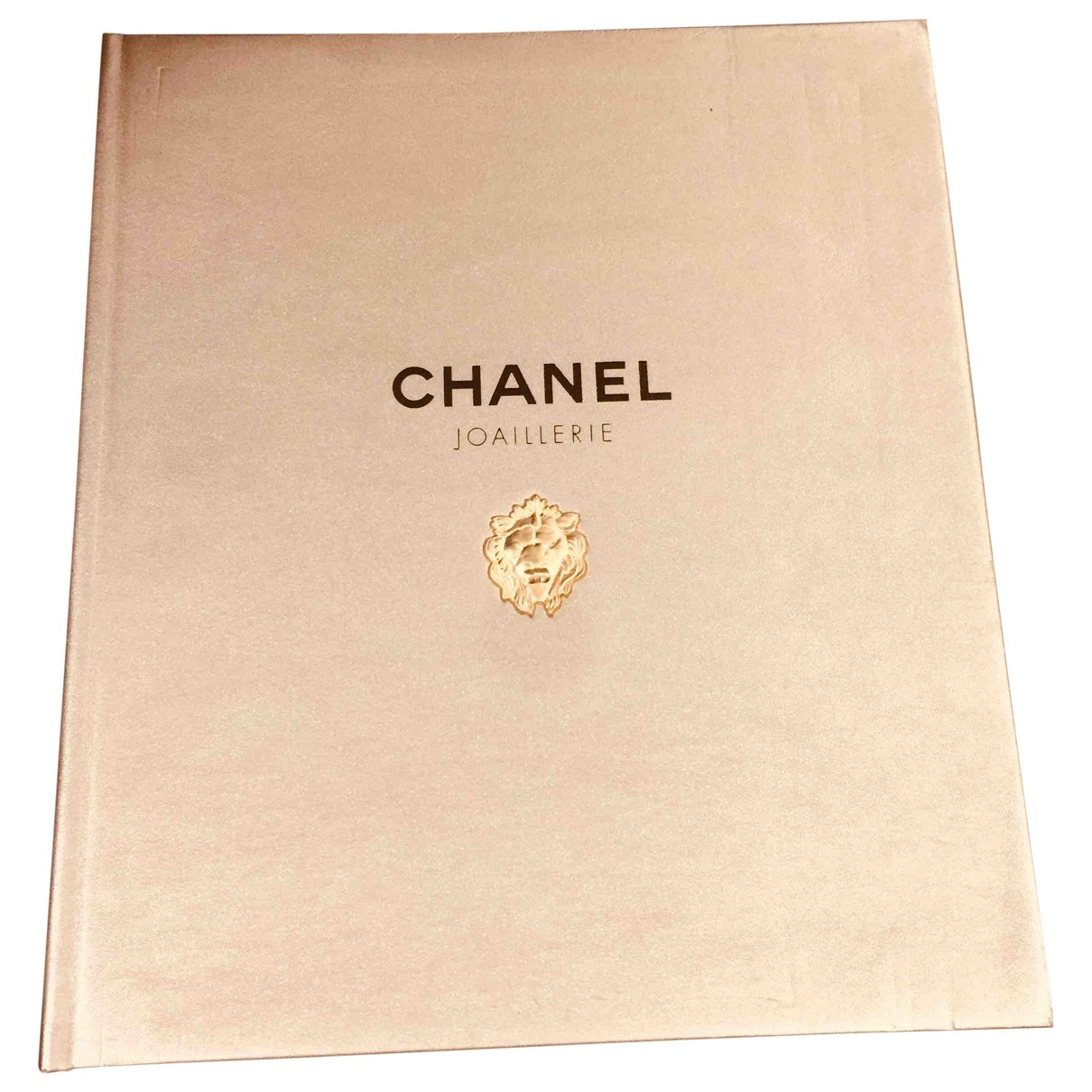 Chanel \N Gold Cotton Photography for Life & Living \N