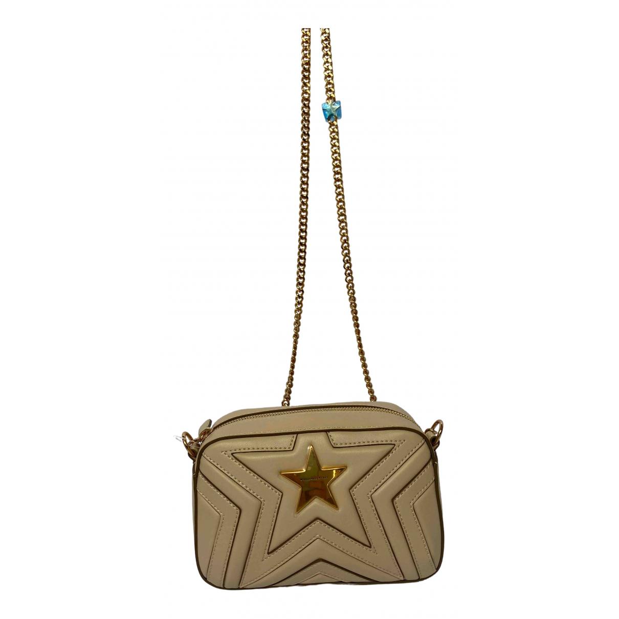 Stella Mccartney Stella Star Handtasche in  Beige Leinen