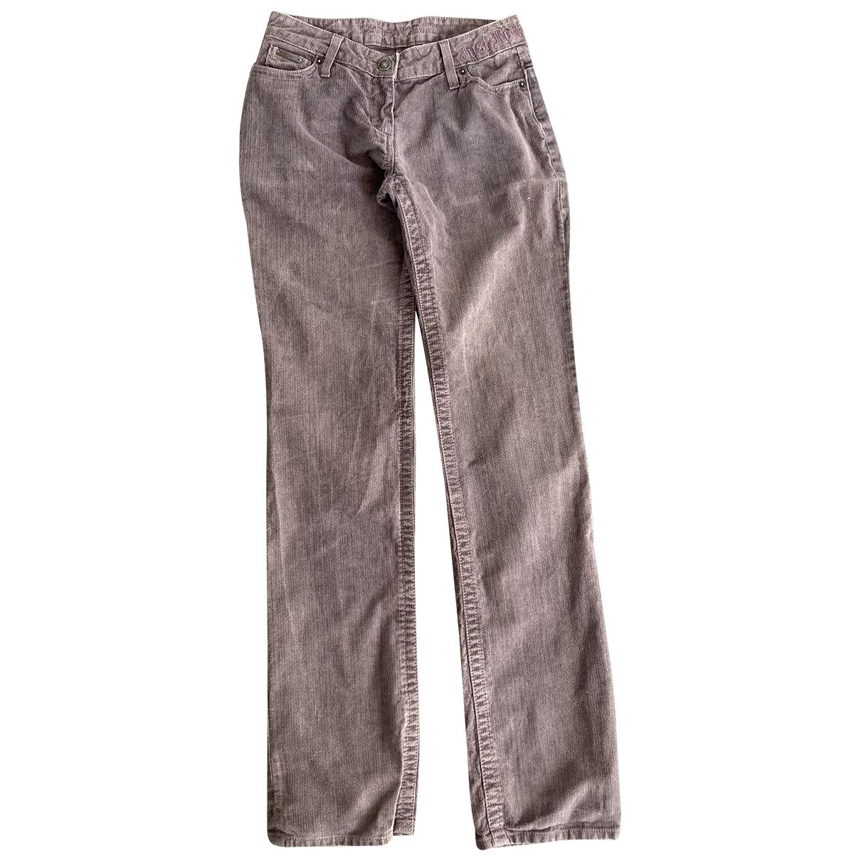 Zadig & Voltaire \N Purple Cotton Jeans for Women 36 FR